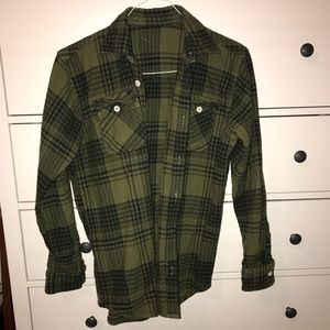 over sized Urban flannel